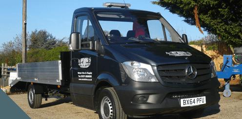 Atlas Winch & Hoist truck