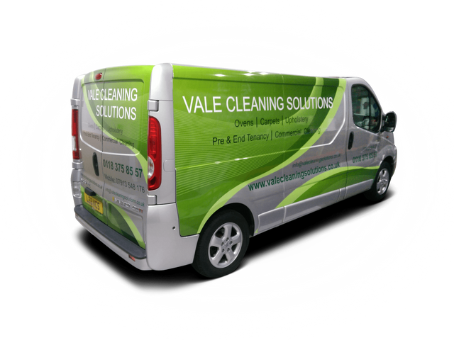 web address on the van