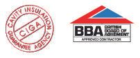 Insulation, insulation services - Norwich, Great Yarmouth, Ipwich, North Walsham, Peterborough - F.T.S. Insulation Services - CIGA BBA logos