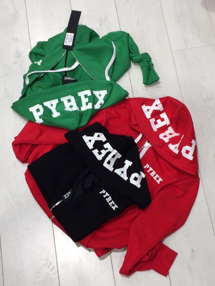 set di maglie colorate Pyrex