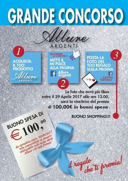 concorso Allure Argenti