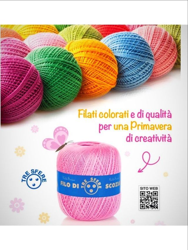 Ingrosso Merceria Online - Filati Tre Sfere - Filati Ingrosso Online