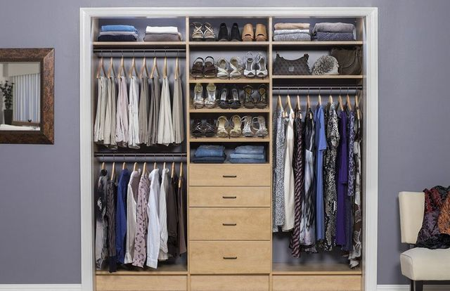 Small Closet Design Solutions | Reach-in Closet | Bedroom ...