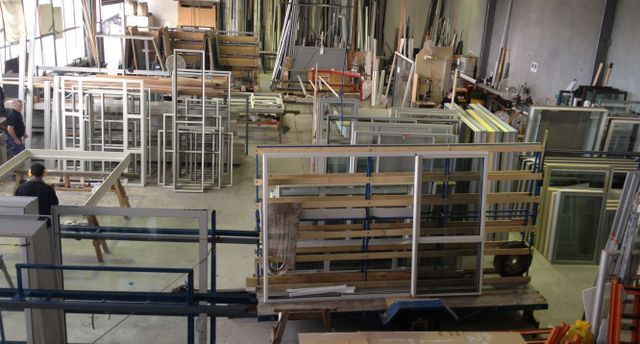 aluminium windows and doors being made in Auckland