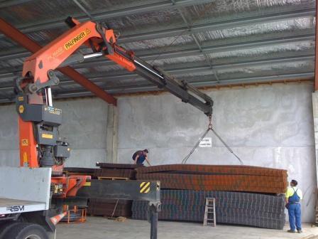 Hiab Crane repair