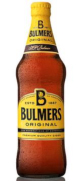 Birra in bottiglia Bulmers