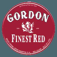 logo Gordon finest red