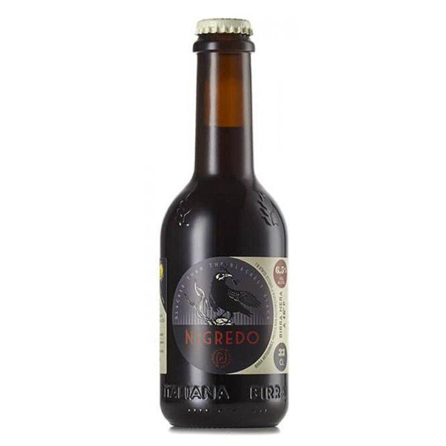 birra in bottiglia Nigredo