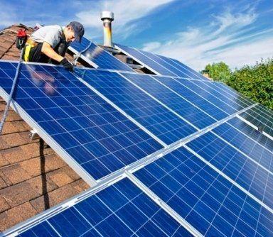 pannelli solari montaggio