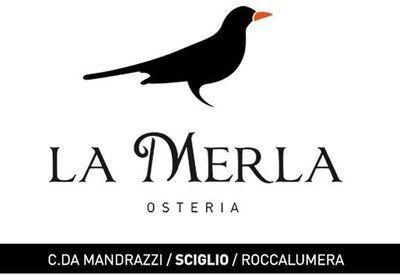 Osteria La Merla Di Sparicio Laura - Logo