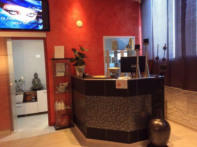 reception centro bellezza