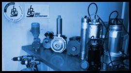 esposizione prodotti elettromeccanici