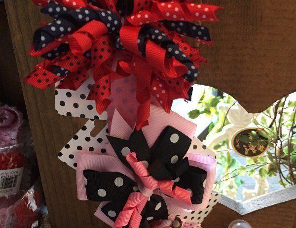 baby ribbons, baby bows, baby hair ribbons, baby hair bows
