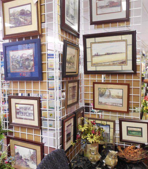 Gil Rumsey Art, Framed arts, Framed prints, Kansas art, kansas prints, framed pictures, landscapes