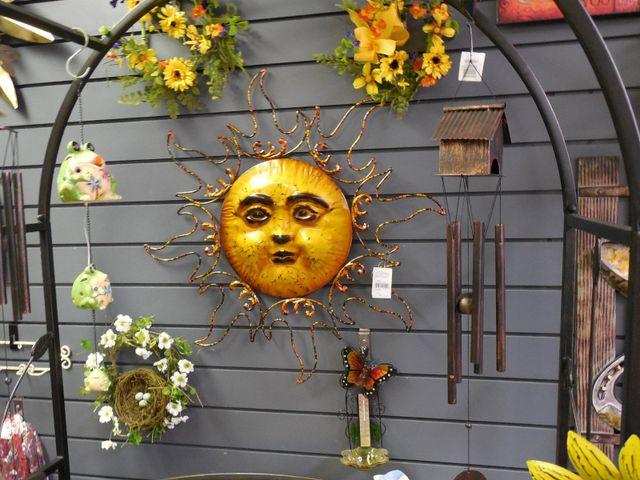 metal sun art, sun gifts