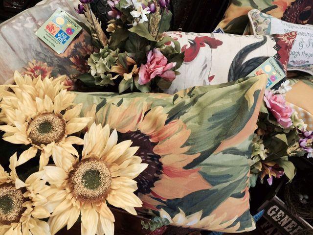 Sunflowers, Artificial Sunflowers, Sunflower Pillow
