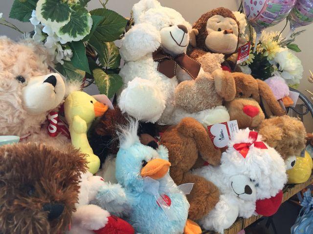 plushes, plush, baby plush, stuffed animals, monkeys, duck plush
