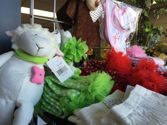 baby clothing, baby socks, baby lamb plush, lamp plush