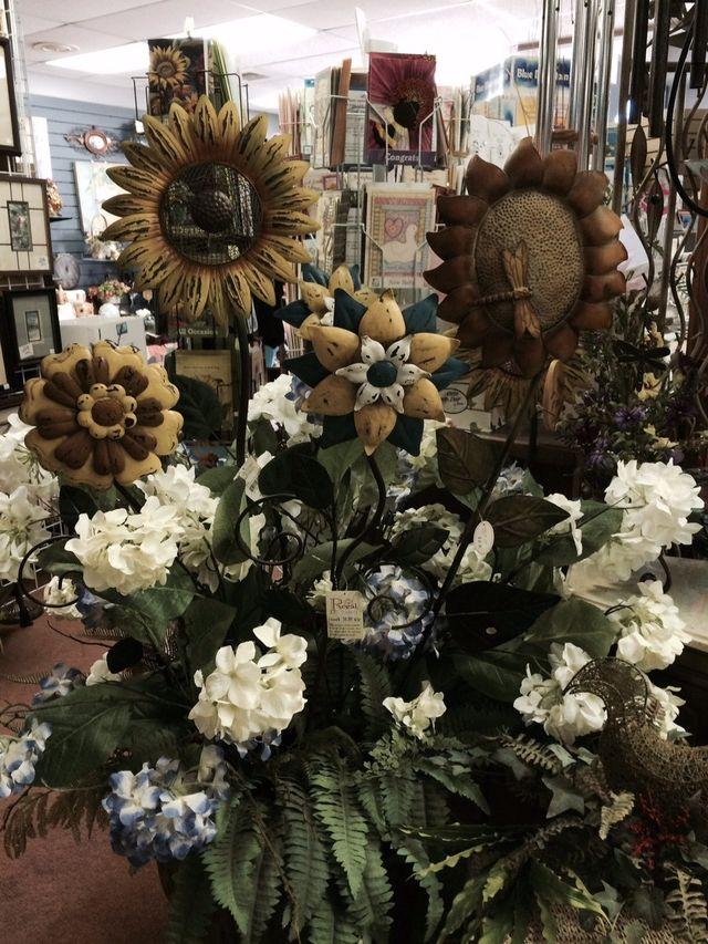 Metal Sunflowers, Artificial Flowers, Sunflowers, Sunkfower gifts