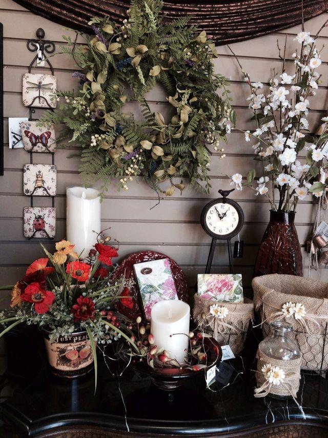 artificial flowers, flower wreaths, wreaths,