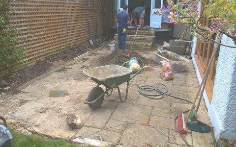 garden before design & build