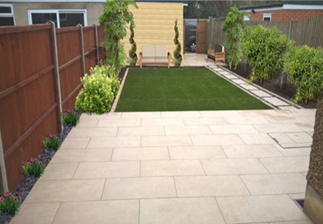 garden after landscaped & designed