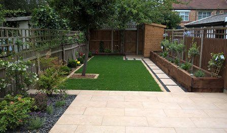 small garden design build - Small Garden Design