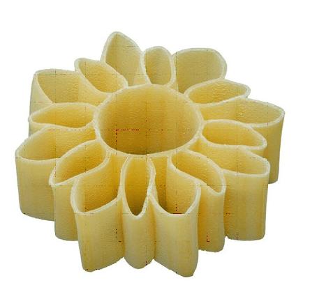 pasta a forma di girasole