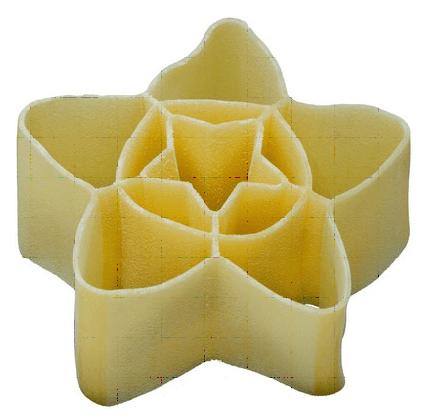 pasta a forma di fiore