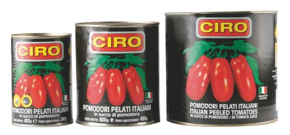 3 barattoli di pomodori pelati