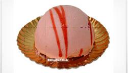 un dessert alla fragola