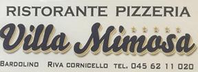 RISTORANTE PIZZERIA VILLA MIMOSA-LOGO