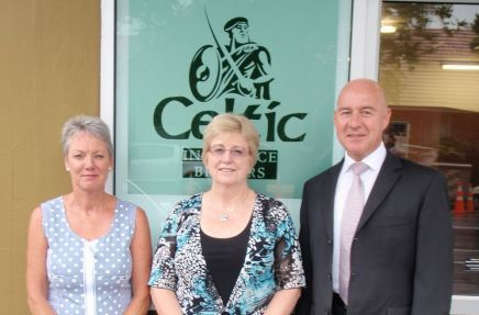 The professional team at Celtic Insurance Brokers in Palmerston North