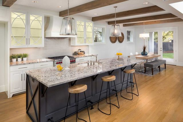 Delightful Remodeled Kitchen Interior