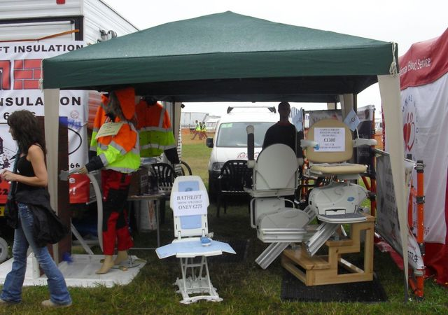 The Adapt Mobility demonstration stand