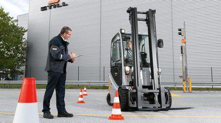 forklift driver training