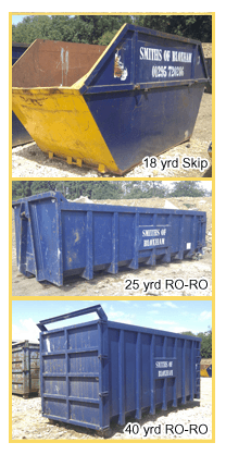 Skip hire from Smiths of Bloxham
