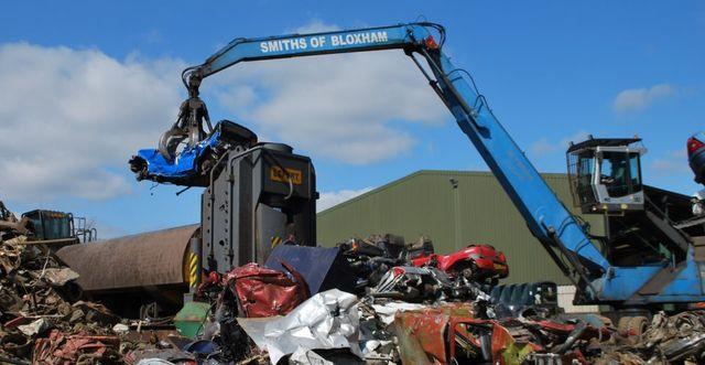 smiths of bloxham lifting scrap car