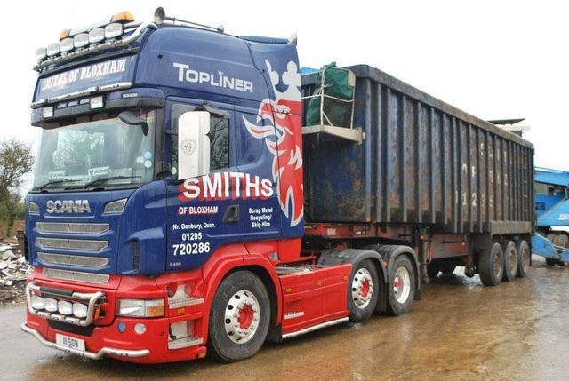 smiths of bloxham truck