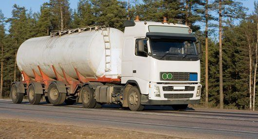 fuel carrying truck