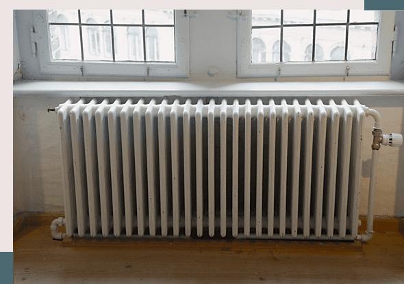 central heating installation