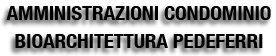 AMMINISTRAZIONI CONDOMINIO BIOARCHITETTURA PEDEFERRI_logo