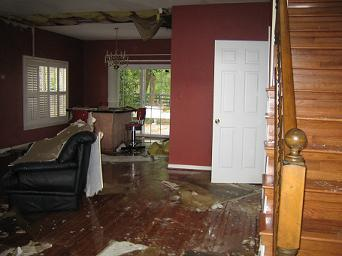 Flood damage Restoration Little Rock