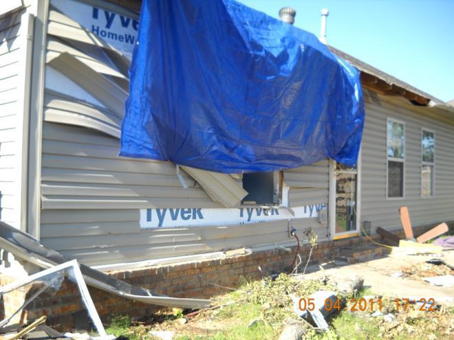 Storm Damage Restoration Benton