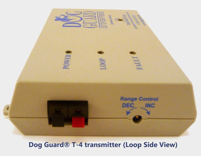 Dog Guard T 4 Transmitter Side View