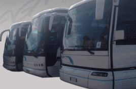 autobus con conducente