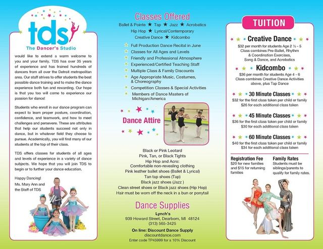Dancers' Studio | About Our School