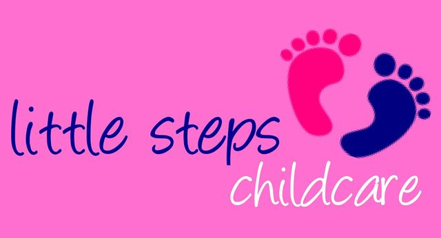 Little steps childcare logo