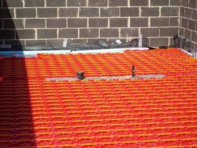 Central heating installation - South Shields - MJL Plumbing & Gas - Underfloor heating
