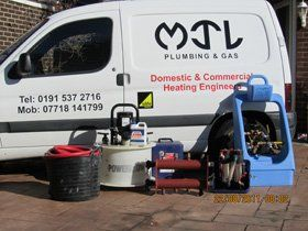 Rust removal - South Shields - MJL Plumbing & Gas - Boiler fitting